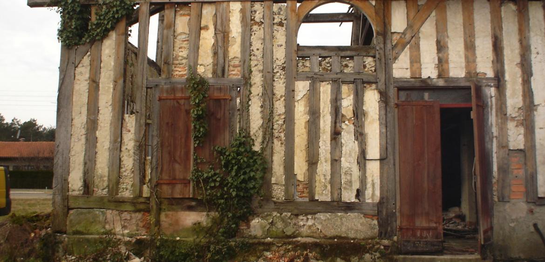 Sarl ferreira daniel r novation d 39 une maison traditionnelle landaise sa - Renovation maison landaise ...